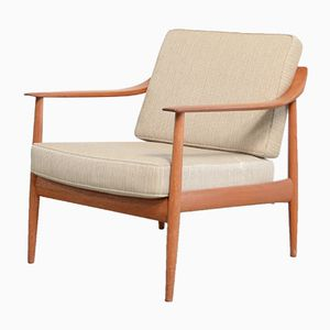 Vintage Antimott Teak Chair from Wilhelm Knoll