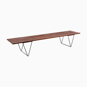 Slate Bench by Robin Day for Hille, 1950s