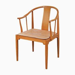 Silla China Chair de Hans J. Wegner para Fritz Hansen, años 80