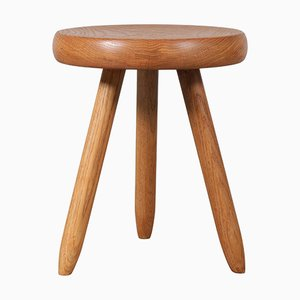 Tall Stool by Charlotte Perriand for Steph Simon, France, 1950