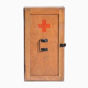 Armoire First Aid en Bois, République Tchèque, 1970s