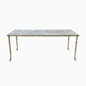 Gilt Bronze Coffee Table from Maison Baguès, 1950s