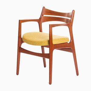 Chaise de Salle à Manger Vintage par Erik Buch pour Christiansen Mobelfabrik, Danemark