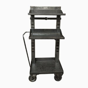 Factory Trolley in Metal from Valentini, 1950s