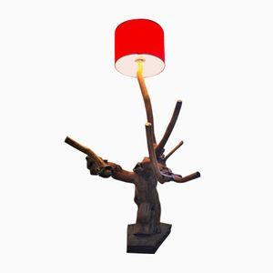 Französische Mid-Century Stehlampe in Zweigen-Optik