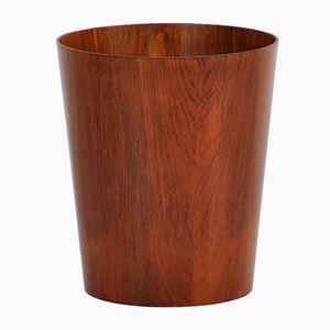 Vintage Swedish Rosewood Bin by Martin Åberg for Servex