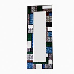 Handgefertigter Nevermind Mosaikspiegel von Luisa Degli Specchi