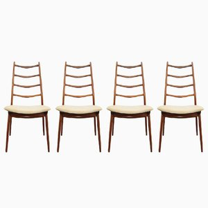 Teak Chairs from Habeo, 1960s, Set of 4