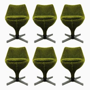 Vintage Polaris Chairs by Pierre Guariche for Meurop, Set of 6