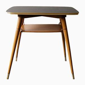 Kleiner Tisch mit drehbarer Platte von Carlon, 1950er