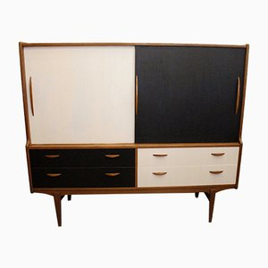 Black & White Sideboard, 1960s