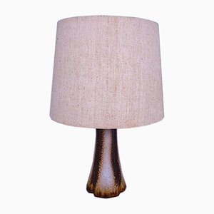 Danish Modern Ceramic Table Lamp, 1960s