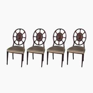 Edwardian Dining Chairs, Set of 4