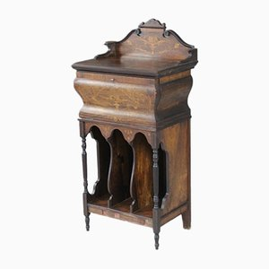 Edwardian Inlaid Rosewood Music Cabinet