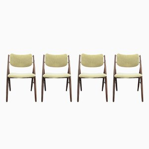 Mid-Century Model 93 Chairs by Olav Haug for Elverum, Set of 4