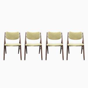 Mid-Century Modell 93 Stühle von Dokka Mobler, 4er Set