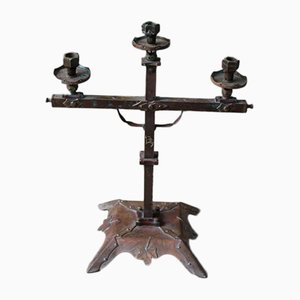 Vintage Arts & Crafts Candelabra