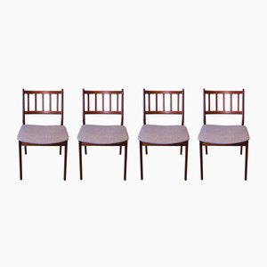 Danish Teak Dining Chairs , 1960s, Set of 4