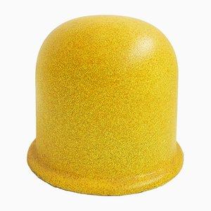 Sgabello modello Puffo giallo di Gruppo Sturm per Gufram, 1989
