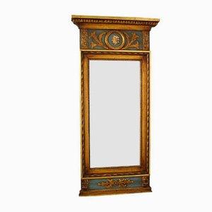 Antiker gustavianischer Spiegel mit Edelsteinen