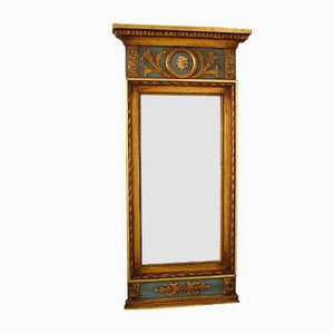 Antique Gustavian Mirror with Gems