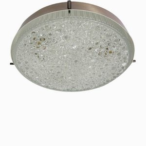 Italian Flush Ceiling Lamp, 1960s