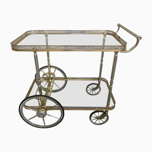 Hollywood Regency Serving Trolley from Mascagni, 1970s