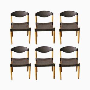 Strax Chairs von Hartmut Lohmeyer für Casala, 1980er, 6er Set
