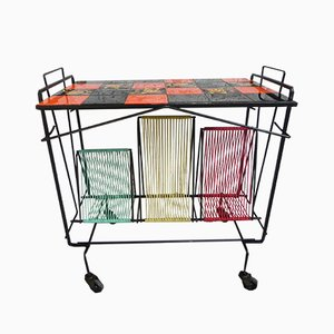 Colorful Serving Trolley, 1960s