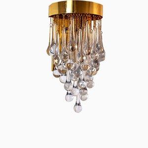 Modell Goutte Wandlampe von Paolo Venini, 1960er