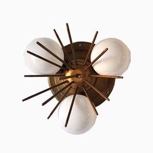 Sputnik Wandlampe, 1970er