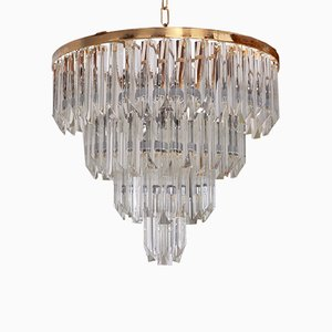 Murano Glass Chandelier by Paolo Venini for S.A.L.I.R. Murano, 1960s