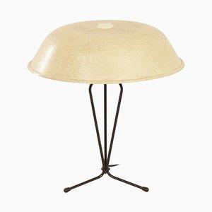 Lampada da tavolo in fibra di vetro di Louis Kalff per Philips, 1958
