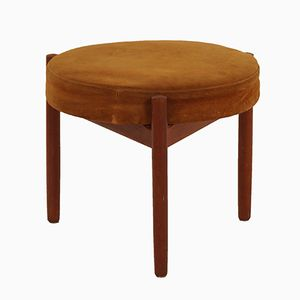 Teak Stool by Hugo Frandsen for Spottrup, 1960s