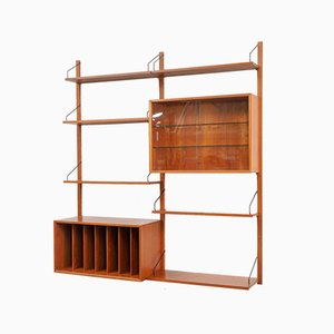 Large Teak Royal System Wall Unit by Poul Cadovius for Cado, 1960s