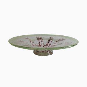 Vintage Ikora Crystal Glass Bowl from WMF