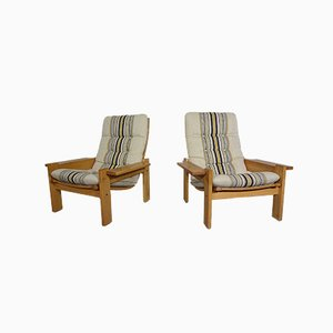 Armchairs by Yngve Ekström for Swedese, 1976s, Set of 2