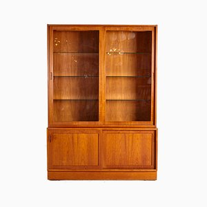 Vintage Teak Display Cabinet by Poul Hundevad for Hundevad & Co., 1960s