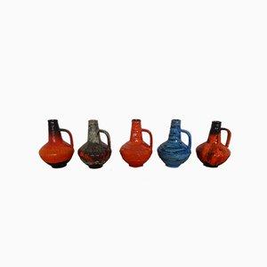 Atelier Vases by Gerda Heuckeroth for Carstens Tönnieshof, 1960s, Set of 5
