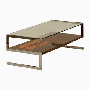 Table Basse à Carreaux Peints à la Main par J. Belarti, 1960s