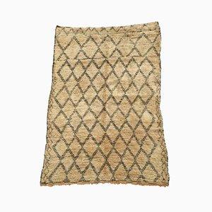 Vintage Moroccan Beni Ouarain Carpet