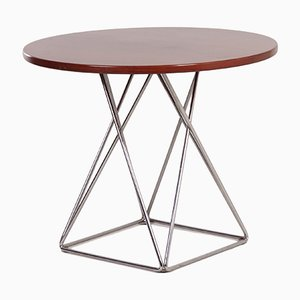 Round Dining Table with Eiffel Base from Thonet, 1970s