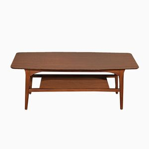 Vintage British Two-Tiered Coffee Table