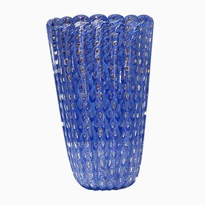 Vase par Ercole Barovier pour Barovier & Toso, 1990s