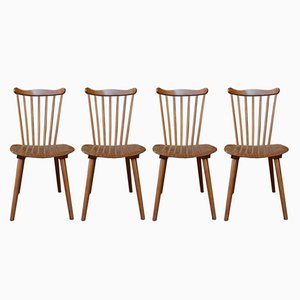 Vintage Dining Chairs from Baumann, Set of 4