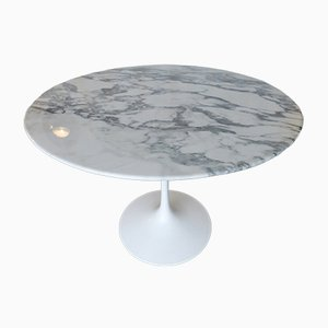 Marble Tulip Table by Eero Saarinen for Knoll International, 1980s