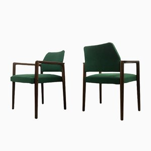 Teak Armchairs from Wilkhahn, 1970s, Set of 2