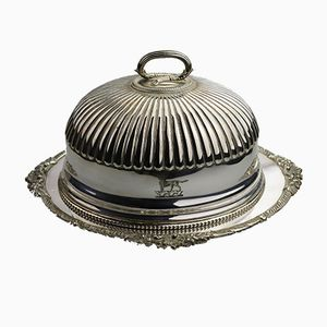 Set da portata antico placcato in argento di Martin Hall & Co.