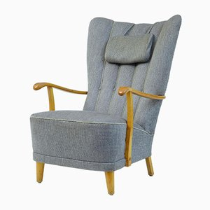 Swedish Birch Armchair, 1960s