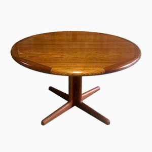 Mid-Century Teak Extendable Dining Table, 1970s
